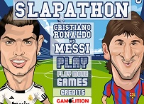 Slapathon: Ronaldo vs Messi